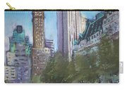 Nyc Central Park 2 Carry-all Pouch by Ylli Haruni