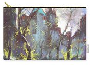 Nyc Central Park Controluce Carry-all Pouch by Ylli Haruni