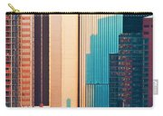 Nyc Colors And Lines II Carry-all Pouch