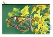 Nymphalid Butterfly Pteronymia Sp Carry-all Pouch