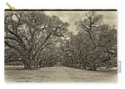 Oak Alley 3 Antique Sepia Carry-all Pouch