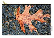 Oak Leaf In Fall Carry-all Pouch