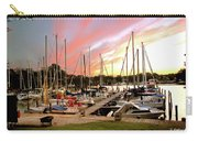 Oak Pt Harbor At Sunset Carry-all Pouch