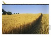 Oat Crops On A Landscape, County Dawn Carry-all Pouch