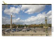 Obelisque Place De La Concorde. Paris. France Carry-all Pouch