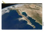 Oblique View Of Baja California Carry-all Pouch