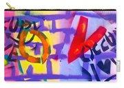 Occupy Graffiti Love Carry-all Pouch