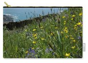 Ocean Wildflowers Carry-all Pouch