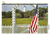 Ocracoke Lighthouse July 4th Carry-all Pouch by Bill Swindaman