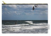 October Beach Kite Surfer Carry-all Pouch