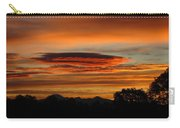 October's Colorful Sunrise 2 Carry-all Pouch
