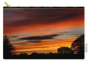 October's Colorful Sunrise Carry-all Pouch