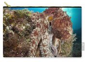 Octopus Posing On Reef, La Paz, Mexico Carry-all Pouch