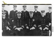 Officers Of The Titanic, 1912 Carry-all Pouch