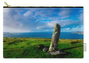 Ogham Stone, Dunmore Head, Dingle Carry-all Pouch
