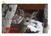 Oh Deer Merry Christmas Carry-all Pouch