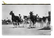 Ohio: Horse Race, 1904 Carry-all Pouch