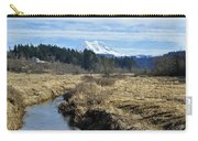 Ohop Valley View Of Rainier Carry-all Pouch