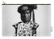 Ojibwa Man, 1894 Carry-all Pouch
