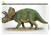 Ojoceratops Fowleri, A Prehistoric Era Carry-all Pouch