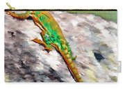 Oklahoma Collared Lizard Carry-all Pouch by Jeff Kolker