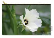 Okra Flower Carry-all Pouch