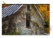 Old Abandoned House In Fall Carry-all Pouch