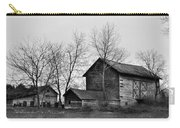 Old Barn In Monochrome Carry-all Pouch