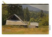 Old Barn On A Hot Summer Day In The Applegate Carry-all Pouch
