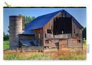 Old Barn With Concrete Grain Silo - Utah Carry-all Pouch