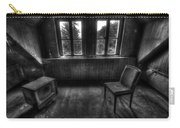 Old Black And White Tv Carry-all Pouch