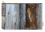 Old Blue Door 1 Carry-all Pouch