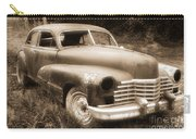 Old Caddy-sepia Carry-all Pouch