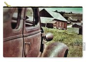 Old Car And Ghost Town Carry-all Pouch