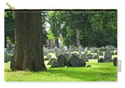 Old Cemetery In Boston Carry-all Pouch by Elena Elisseeva