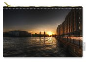 Old Docks Sunset. Carry-all Pouch
