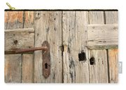 Old Door In Sebastia Carry-all Pouch