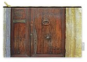 Old Door Study Provence France Carry-all Pouch