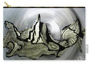 Old Drawing Called Serenity  Carry-all Pouch