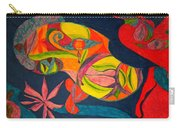 Old Drawing I Painted In 1985 Carry-all Pouch