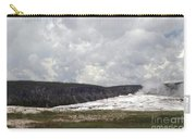 Old Faithful At Rest Carry-all Pouch