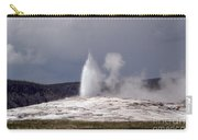 Old Faithful Letting Off Some Steam Carry-all Pouch