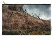 Old Farmhouse With Stormy Sky Carry-all Pouch
