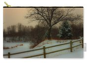 Old Fashiion Winter Carry-all Pouch