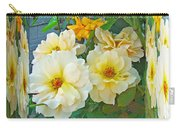Old Fashioned Yellow Rose - Mirror Box Carry-all Pouch