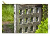 Old Garden Entrance Carry-all Pouch by Heiko Koehrer-Wagner