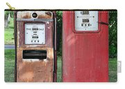 Old Gas Station Pumps Carry-all Pouch
