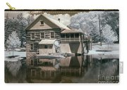 Old Grist Mill In Infrared Carry-all Pouch