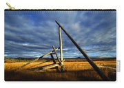 Old Homestead Near Pelly Crossing Carry-all Pouch