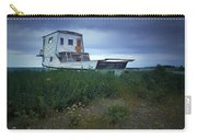 Old Houseboat On A Minnesota Shore On Lake Superior Carry-all Pouch